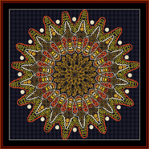 Fractal 517 cross stitch pattern by Cross Stitch Collectibles   Crafting   Cross-Stitch   Wall Hangings