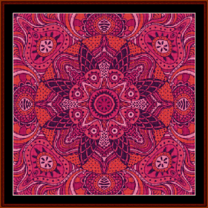 Fractal 518 cross stitch pattern by Cross Stitch Collectibles | Crafting | Cross-Stitch | Wall Hangings