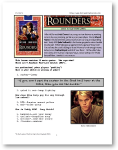 rounders, whole-movie english (esl) lesson