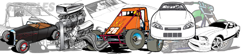 Third Additional product image for - ULTIMATE Racing Clip Art Package