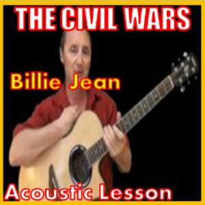 learn to play billie jean by the civil wars