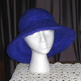 parisian felted knit hat patterns