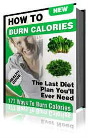 177 ways to burn calories how to ebook weight loss