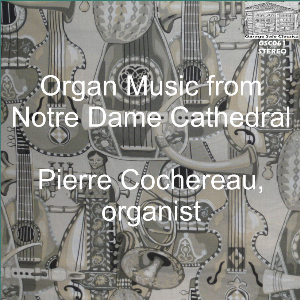 pierre cochereau plays the organ of  notre dame cathedral, paris