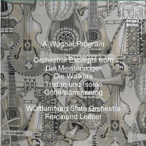 a wagner program - württemburg state orchestra/ferdinand leitner