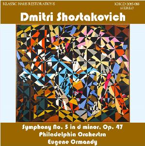 shostakovich: symphony no. 5 in d minor - philadelphia orchestra/eugene ormandy