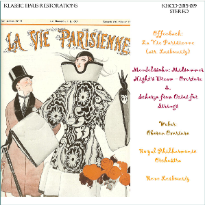 music by offenbach, mendelssohn, and weber - royal philharmonic orchestra/rene leibowitz
