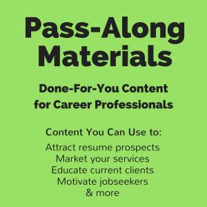 tweetable tips pass-along materials