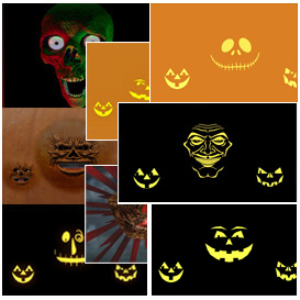 halloween lot of all projection effects 2015