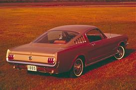 1965 ford mustang mvma specifcations