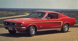 1968 ford mustang mvma specifications