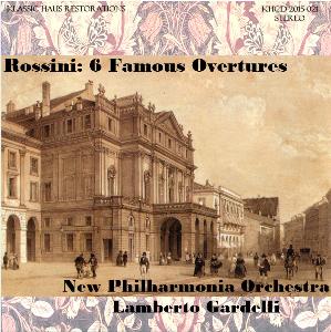 rossini: 6 famous overtures - new philharmonia orchestra/lamberto gardelli