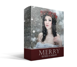 merry winter overlays
