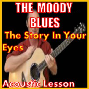 learn to play the story in your eyes by the moody blues