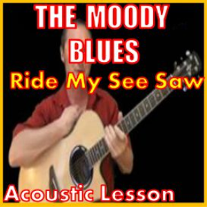 learn to play ride my see saw by the moody blues