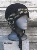 croshay design flyflap cap aviator style earflap hat crochet pattern
