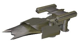 starship alicia paper model