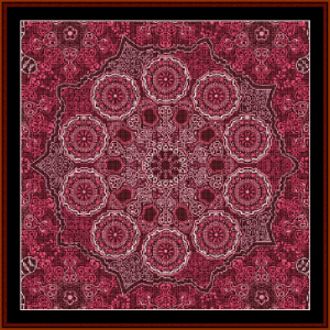 Fractal 521 cross stitch pattern by Cross Stitch Collectibles | Crafting | Cross-Stitch | Wall Hangings