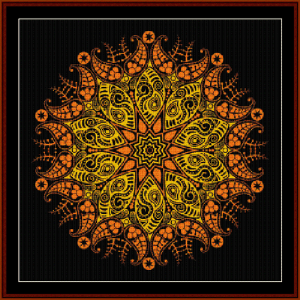 Fractal 524 cross stitch pattern by Cross Stitch Collectibles | Crafting | Cross-Stitch | Wall Hangings