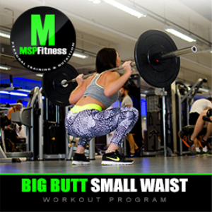 big butt small waist | workout plan
