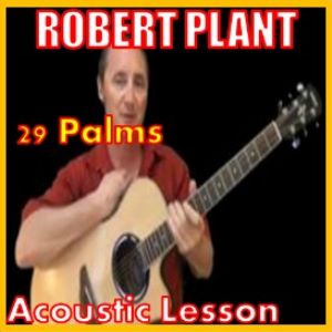 learn to play 29 palms by robert plant