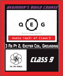class 9: 3 rs pt 2, exciter coil, grounding
