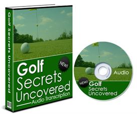 golf secrets uncovered - plr