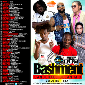 dj roy bashment dancehall mix vol.6 2015