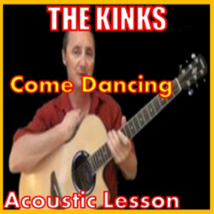 learn to play come dancing by the kinks