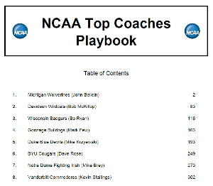 2015 ncaa top coaches playbook