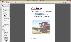 CASE IH 7120 - 9120 Series Axial-Flow Combine Service Maintenance Manual | Documents and Forms | Manuals