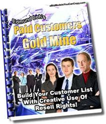 paid customers goldmine-building your customer list