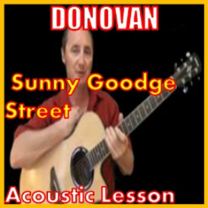 learn to play sunny goodge street by donovan