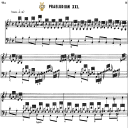 Prelude and fugue No 21 in B-Flat Major BWV 866, J.S. Bach, Well Tempered Clavier I, Bischoff Urtext Ed. Schirmer, A5, Tablet Edition, 9pp   eBooks   Sheet Music