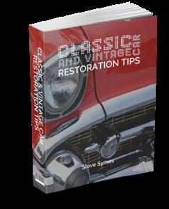 vintage cars - restoration tips