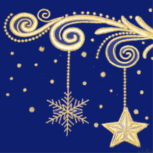 Laura's Sewing Studio Golden Christmas DST ALL | Crafting | Embroidery