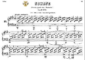 piano sonata no.14, op.27 no.2 in c-sharp minor, «moonlight», l.v.beethoven, kohler-ruthardt rev.,ed.c.f.peters (1880), a5,tablet edition, 20pp