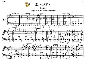 piano sonata no.15, op.28 n d major, «pastoral», l.v.beethoven, kohler-ruthardt rev.,ed.c.f.peters (1880), a5,tablet edition, 28pp