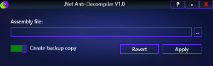 .net anti-decompiler v1.0