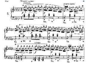 Etude Op.10 No.5 in G-Flat Major, F.Chopin, Scholtz, Ed.C.F.Peters (1904), A5, Tablet Edition (Landscape), 8pp   eBooks   Sheet Music