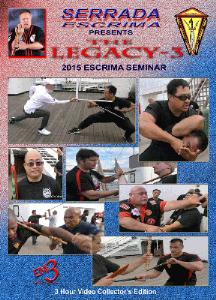 legacy 3 seminar by serrada escrima
