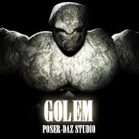 golem for poser and daz studio