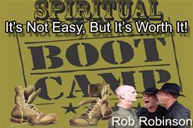 spiritual boot camp, its not easy but its worth it on one 11 hour audiobook