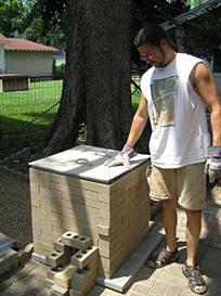 brick raku kiln plans