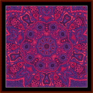 Fractal 525 cross stitch pattern by Cross Stitch Collectibles   Crafting   Cross-Stitch   Wall Hangings