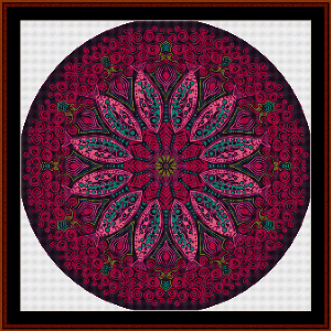 Fractal 527 cross stitch pattern by Cross Stitch Collectibles | Crafting | Cross-Stitch | Wall Hangings