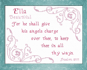 Name Blessings -  Ella 2 | Crafting | Cross-Stitch | Other