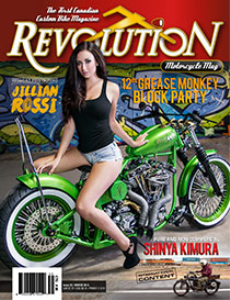 revolution motorcycle magazine vol.35 english