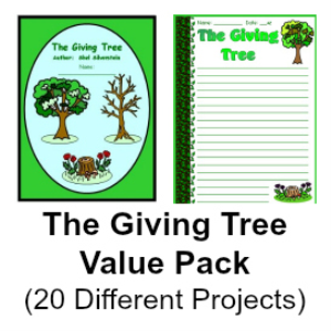 giving tree value pack (set of 20 resources)