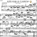 Suite in A minor, BWV 818, J. S. Bach, Bischoff Urtext, Ed. Breitkopf Reprint Kalmus, Tablet Edition, A5 (Landscape), 10pp   eBooks   Sheet Music